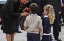 Le Roi et la Reine en visite à lécole européenne (Archives - Crédit : Commission européenne)