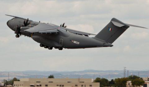 Le second A400M «français» prend son envol