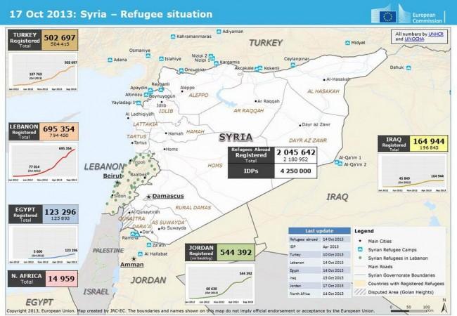 Les Syriens continuent de fuir, en silence