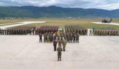 Les troupes dAlthea lors de lexercice Quick Response en septembre (crédit : EUFOR Althea)