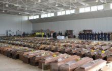 Hommage aux morts de Lampedusa - 9 octobre 2013 (crédit : Commission européenne)