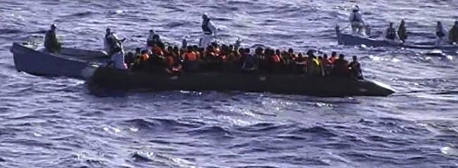 Etre réfugié lors d'une opération Frontex