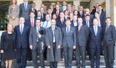 Les ambassadeurs du COPS étaient en visite en Géorgie fin septembre (Crédit : EUMM Georgia)