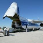 L'avion de transport, Ilyushin ll-76, envoyé aux Philippines (Crédit: OTAN)