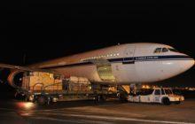 LA330 sur le tarmac de laéroport de Melsbroek/Zaventem avant son décollage vers les Philippines (crédit : EATC / Armée belge)