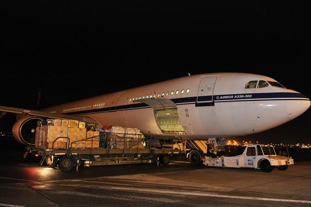 L'A330 belge vers les Philippines, avec une European touch