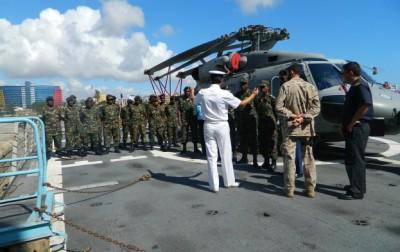 L'exercice de formation  (Crédits: EUNAVFOR Somalia)