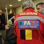 Départ de l'équipe de de secours belge B-Fast (crédit:  B-Fast)