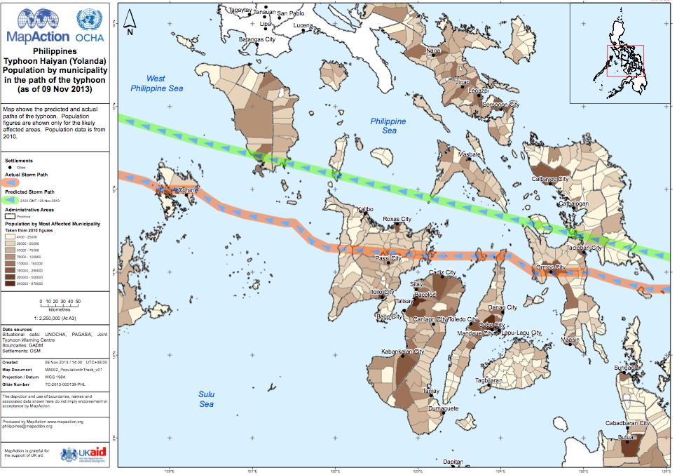 Cyclone Haiyan, l'aide européenne se met en place (maj4)