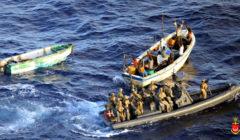 larrestation des suspects par les commandos danois le 10 novembre (crédit : marine danoise)