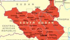 Sur la carte diffusée par le Foreign office, tout est en rouge (Ministère Uk pour les Affaires étrangères)