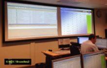 La salle de régulation de EATC à Eindhoven