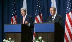 Kerry et Lavrov lors de laccord sur la destruction de larsenal chimique syrien (Crédit : Dpt Etat US)
