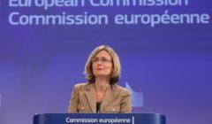 Pia Ahrenkilde Hansen, Porte-parole de la Commission européenne (Crédit : commission européenne)