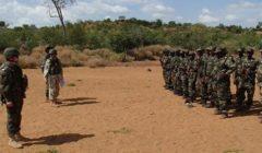 Polonais en formation à EUTM Mali (Crédit : Ministère polonais de la Défense)