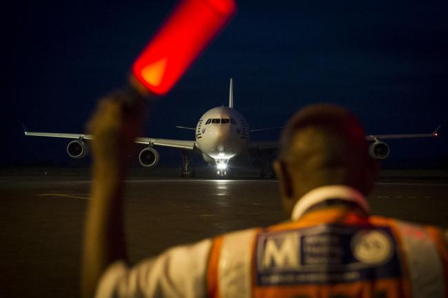 Un Airbus du détachement Esterel en renfort en Centrafrique (crédit : )