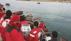 Volontaires du Croissant-rouge arabe syrien (Crédit : Croissant-rouge arabe syrien)