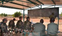 Restitution pédagogique par un stagiaire malien (Crédits: EUTM Mali)