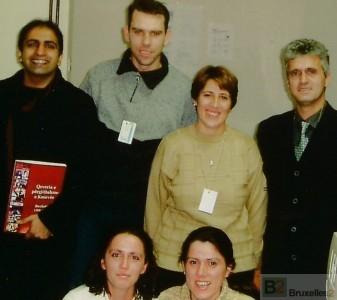 Del Singh au Kosovo dans les années 2000 (archives de Del Singh)