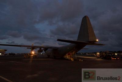 L'aéroport de Bangui, noeud névralgique pour les opérations internationales en Rép. centrafricaine (Crédit : DICOD / ministère Fr de la Défense, mars 2013