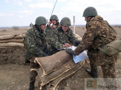 Les bérets noirs ukrainiens à l'entrainement, prêts pour le battlegroup Helbroc
