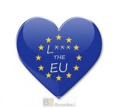 La réponse de l'Europe aux Etats-Unis. Love EU