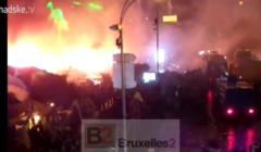 La place Maidan à 19h30 (crédit : Hromadske Tv)