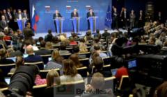 Poutine, Barroso et Van Rompuy lors du dernier sommet UE-Russie (crédit : Conseil UE / EBS)