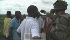 soldats français de Sangaris à Bangui (crédit : Ministère français de la Défense / DICOD)