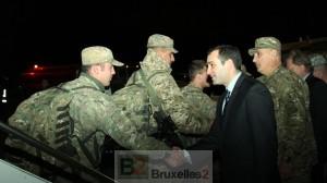 (crédit : ministère géorgien de la Défense)