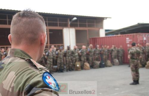 400 soldats français de plus dans l'attente d'EUFOR RCA