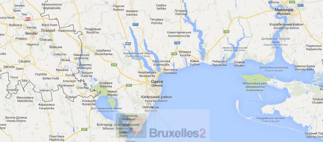 L'armée russe massée à l'Est de l'Ukraine pour aller en Transnistrie, Heu…