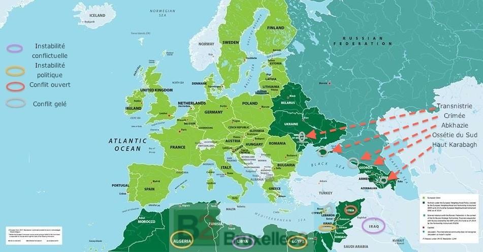 Au voisinage de l'Europe, le calme plat ?