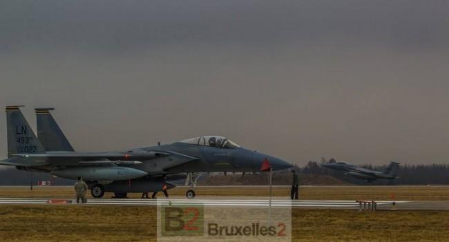 Avions US en renfort dans les pays baltes et en Pologne