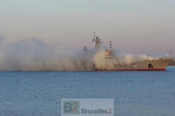 La flotte ukrainienne en Crimée, c'est fini