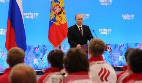 Les JO terminés, la remise au pas de lUkraine peut commencer (Crédit : présidence russe)