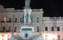 Statue de Catherine La Grande, érigée en 2007 @Loreline Merelle/B2