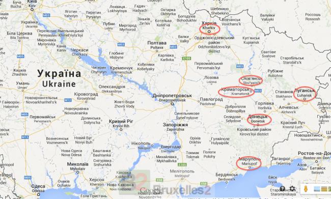 Escarmouches dans l'est de l'Ukraine. Kiev réagit (Maj3)