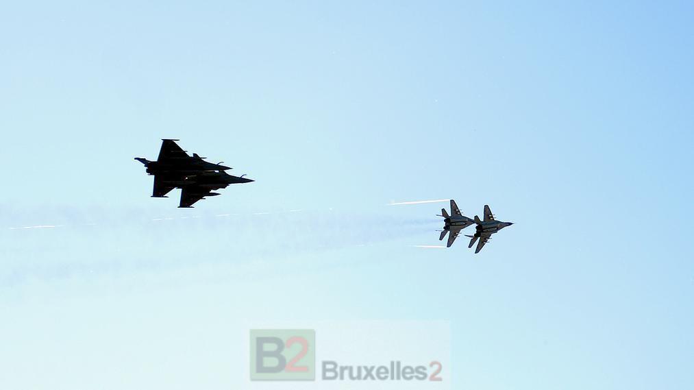 4 Rafale français présents à Malbork. Plus qu'un symbole …