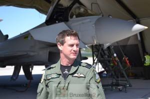 Billy Cooper, Squadron leader, commandant opérationnel de la 135 EAW.