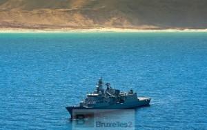 Relève greco-néerlandaise dans l'Océan indien