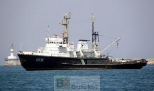 Le rapatriement des navires ukrainiens continue