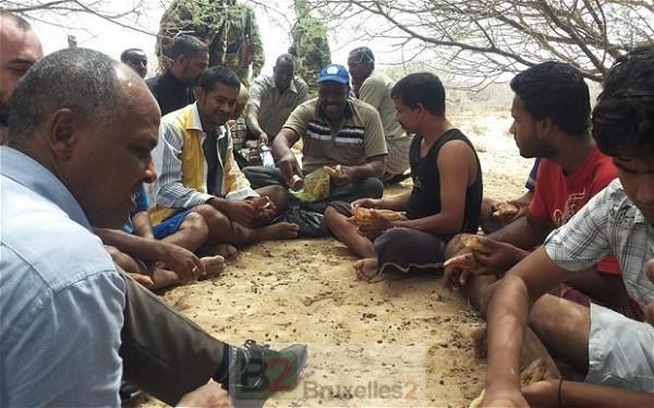 Les 11 marins libérés du MV Albedo (crédit : UNODC)