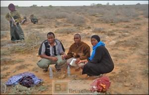 """Les 3 travailleurs de l'ONG """"Ias"""" peu après leur capture en 2012 (crédit : IAS)"""