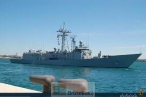 Relève espagnole dans l'Océan indien