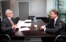Entretien ce mardi entre JC Juncker et Jirki Katainen (crédit : Commission européenne)