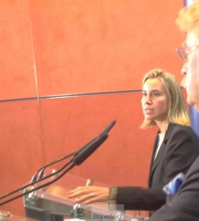 Oui il y a une agression russe, c'est clair (Mogherini)