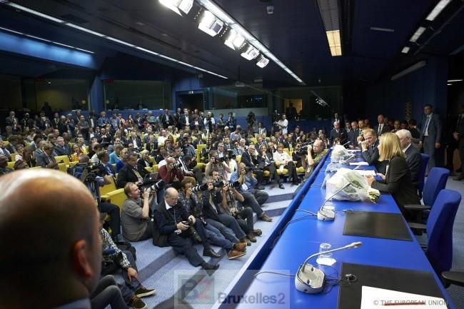 Jean-Claude, Martin, Donald, Federica… Le quatuor européen est en place