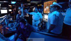 A bord de lUSS Ross - crédit : US Navy
