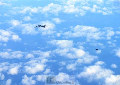 Les avions russes font ciel unique…